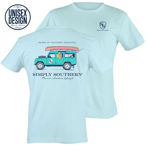 Simply Southern Raised By Southern Traditions SUV Tee