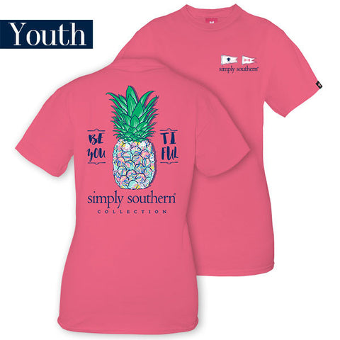 Simply Southern Beyoutiful Youth Tee