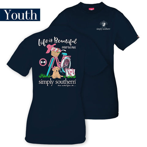 Simply Southern Lfie is Beautiful Youth Tee