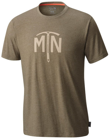 Mountain Hardwear Ice Axe Mens T-Shirt Stone Green