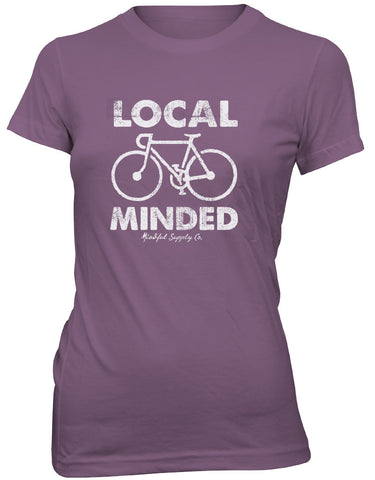 Mindful Supply Local Minded Womens T-Shirt