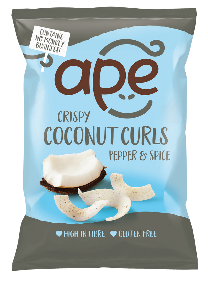 Crispy Coconut Curls Pepper & Spice