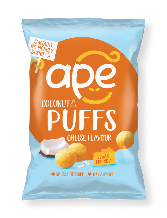 NEW! Coconut Puffs Cheese Flavour