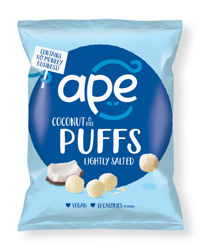 Coconut Puffs Lightly Salted Share Bag