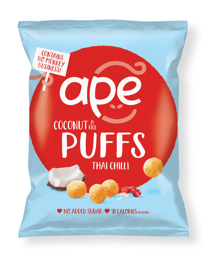 Coconut Puffs Thai Chilli Share Bag