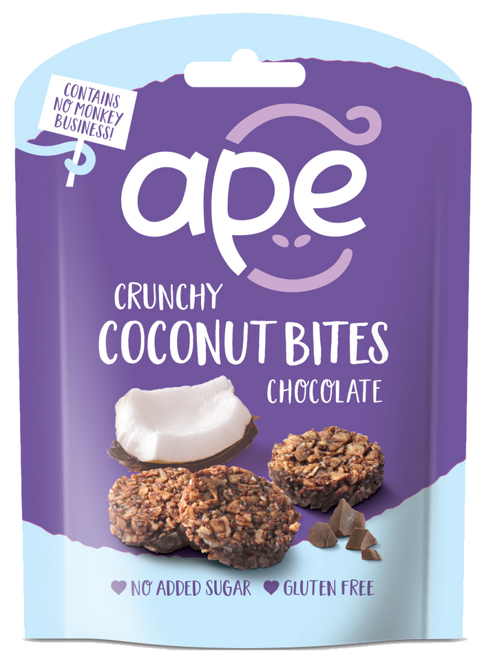 BRAND NEW! Crunchy Coconut Bites Chocolate