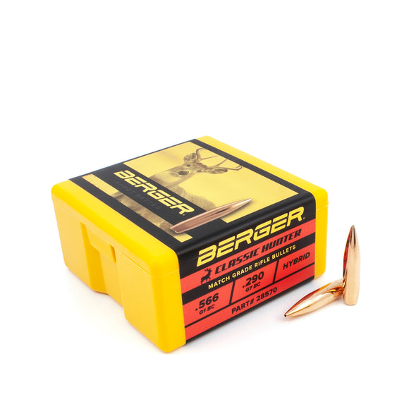 .284 Cal 7mm 168gr Match Classic Hunter Hunting Bullets