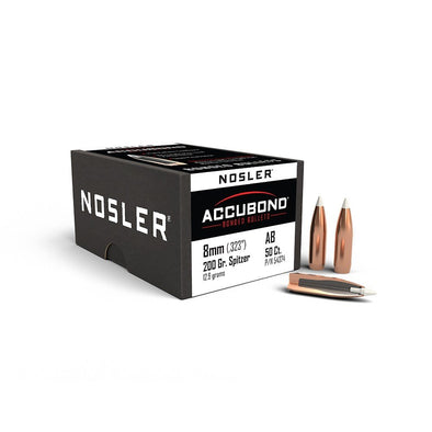 Nosler- AB 8mm 200 Grain SP - 50
