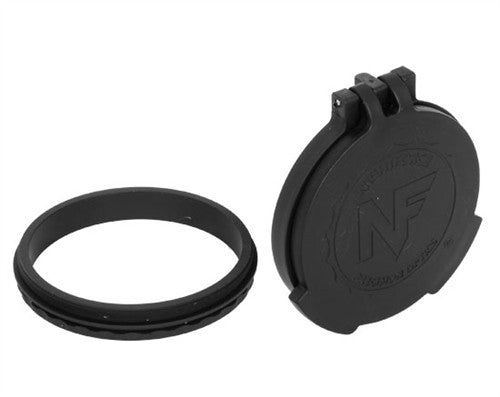 Nightforce Objective Flip-up lens caps for BEAST, ATACR, NXS A468 - 1 Shot Gear
