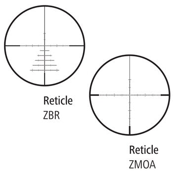 ZEISS Conquest V6 3-18x50 ZBR-2 Reticle - 1 Shot Gear