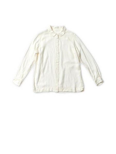 milk cotton shirt