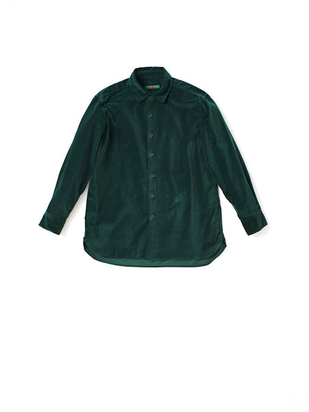 cotton velvet shirt