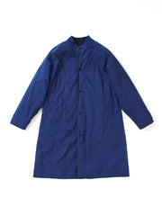 collarless bobi coat