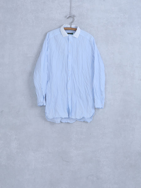 mens white collar shirt