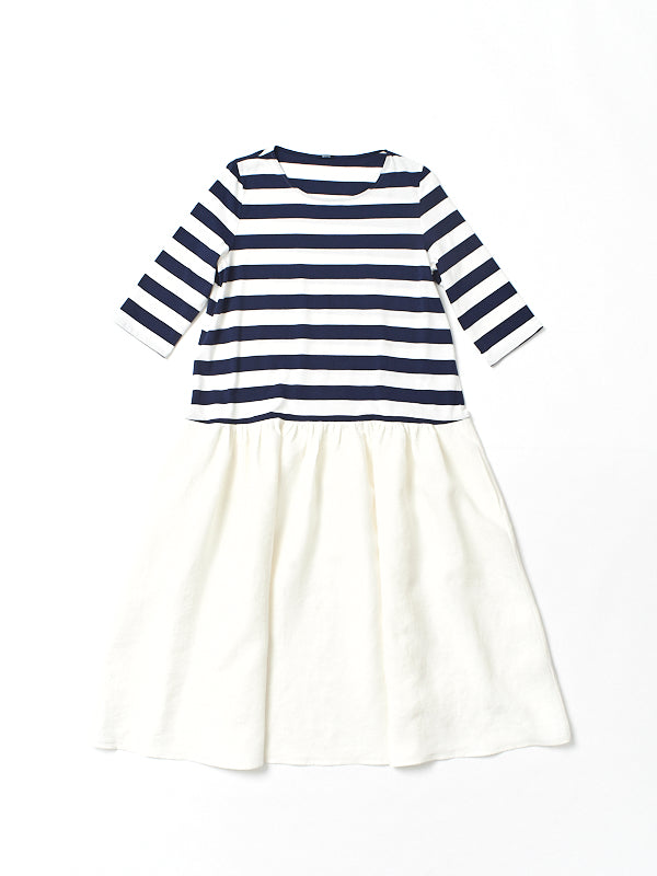 stripe top dress