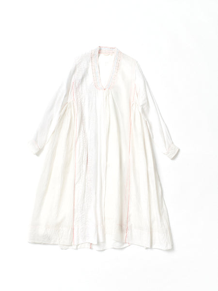 embroidered dress coat