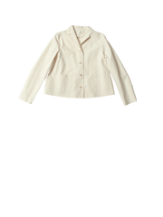 cream cotton jacket