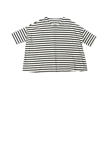 black and white stripe tshirt