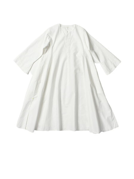 white aline tunic dress