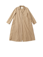 long beige coat