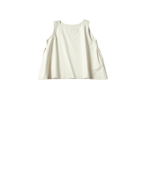 cream short sleeve top