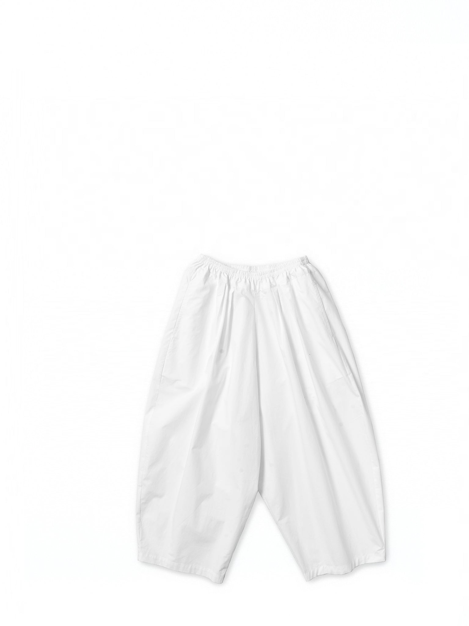 White baggy trousers