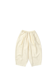 cream baggy trousers