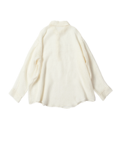 linen white night shirt