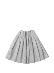 egg striped skirt