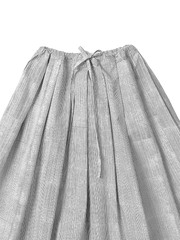 egg drawstring skirt