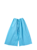 Blue drawstring trousers
