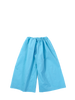 Blue crispy cotton trousers