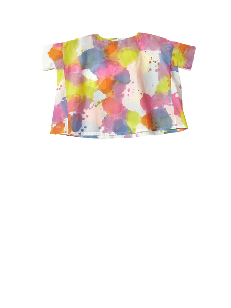 Multicoloured wide top
