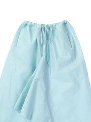 Pale blue drawstring trousers