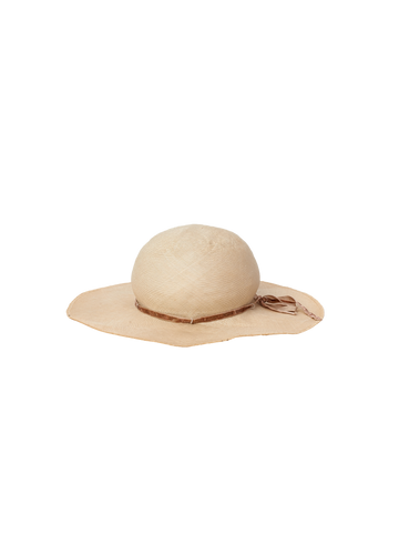 limited vintage straw hat