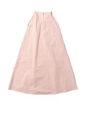 pink tafetta dress