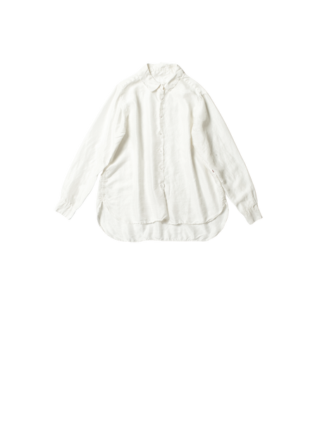 white silk marine shirt