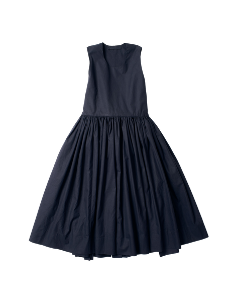 apron style blue canvas amy dress