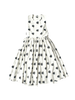 block flower print apron style canvas amy dress