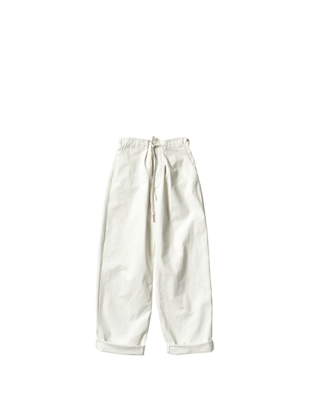 white denim uniform josh trouser
