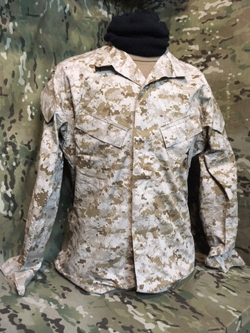 Flawed or Repaired MARPAT Desert CAMO TOPS