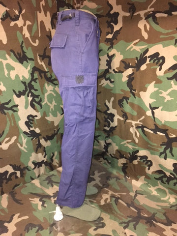 US Coast Guard Solid Blue Utility Uniform Pants