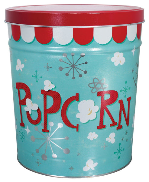 6.5 Gallon Popcorn Tins