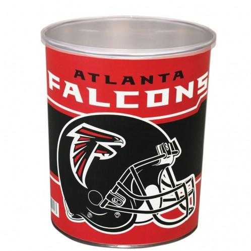 Nfl 1 Gallon Tins Atlanta Falcons