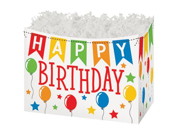 Small Gift Boxes Birthday Banner