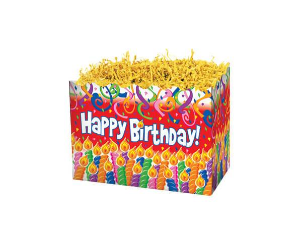 Large Gift Boxes Birthday Candles