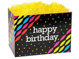 Large Gift Boxes Birthday Streamers