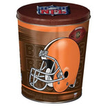 Nfl 3 Gallon Tins Cleveland Browns Popcorn