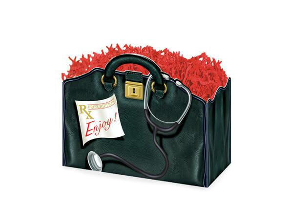Large Gift Boxes Doctors Bag