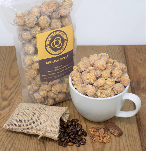 Coffee Powered Popcorn